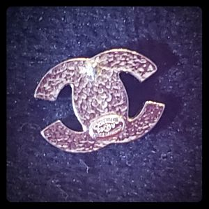 Chanel cc logo earings